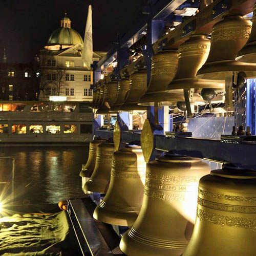 The Carillon floating on Vltava